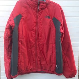 The NorthFace Red & Grey Jacket